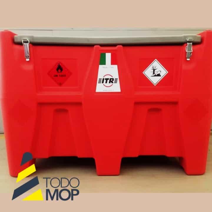 DEPÓSITO DE GASOIL/GASOLINA DE POLIETILENO 440 litros.
